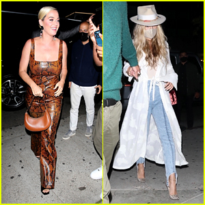 Katy Perry & Kate Hudson Head To Kendall Jenner's Party at Craig's