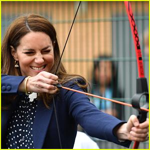 Kate Middleton Channels Katniss Everdeen for Her Latest Public Appearance!