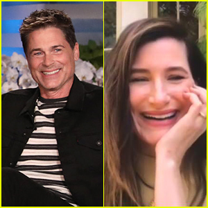 Kathryn Hahn Revealed Her Childhood Crush on Rob Lowe During A Mini Parks & Recreation Reunion