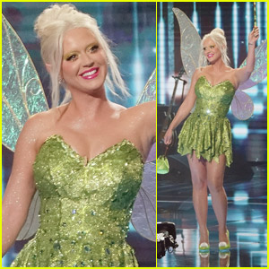 Katy Perry Dresses as Tinker Bell for Disney Night on 'American Idol'