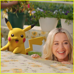 Katy Perry & Pikachu Travel Back in Time for Her 'Electric' Music Video - Watch Now!