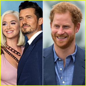 Katy Perry Offers Brief Comment on Orlando Bloom & Prince Harry's Friendship!