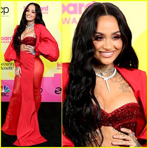 Kehlani Is Sizzling Red Hot at Billboard Music Awards 2021!