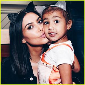 Kim Kardashian & All Four Kids Had COVID-19 in November 2020