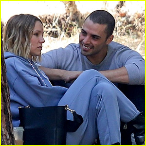 Kristen Bell Enjoys Lunch in the Park with Actor Benjamin Levy Aguilar