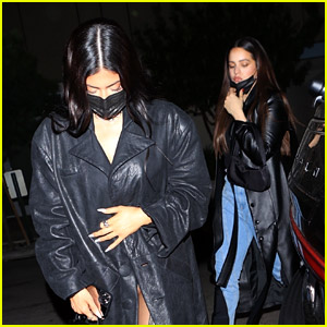 Kylie Jenner Hits the Town with Rosalia in WeHo
