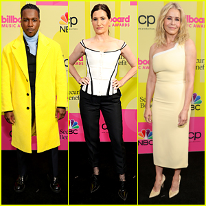 Leslie Odom Jr Goes Bright & Bold With Yellow Jacket at BBMAs 2021