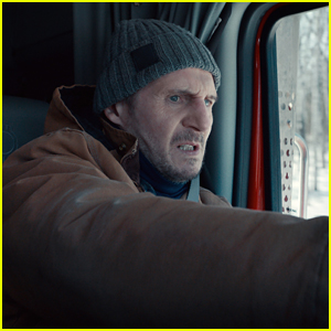 Liam Neeson Battles Bad Guys On A Frozen Lake in 'The Ice Road'