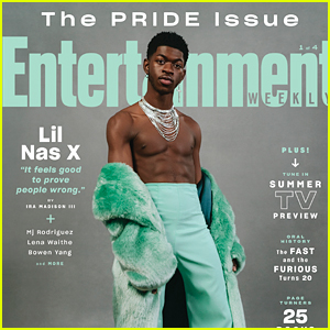 Lil Nas X Gets Real About Clapping Back at Trolls In 'Entertainment Weekly's Pride Issue