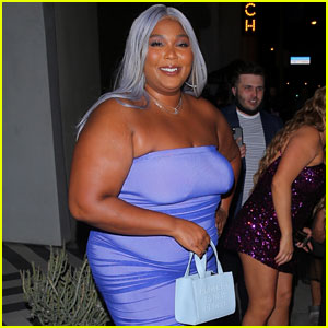 Lizzo Carries 'Protect Black People' Purse While Out for Dinner