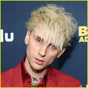 Machine Gun Kelly Paints His Tongue Black for His Billboard Music Awards 2021 Look!