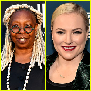 Whoopi Goldberg Cut Off Meghan McCain & She Was Not Happy - Watch The Tense Moment