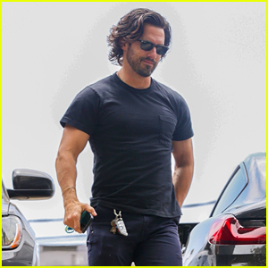 Milo Ventimiglia Explains Why His Gym Shorts Look So Short! (Video)