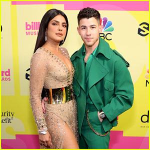 Host Nick Jonas Gets Support from Wife Priyanka Chopra at Billboard Music Awards 2021!
