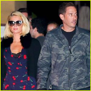Paris Hilton & Fiance Carter Reum Enjoy a Dinner Date in Malibu