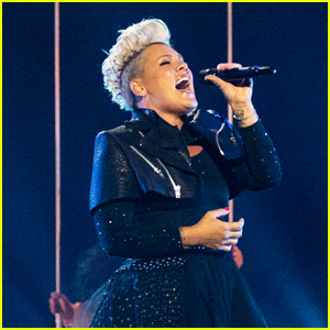 Pink Rocks the Stage During Rehearsals Ahead of Being Honored at Billboard Music Awards 2021