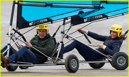 Prince William & Kate Middleton Return to Their College Town - Where They Met - to Compete in a Land Yacht Race!