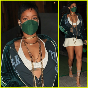 Rihanna Rocks a Pixie Cut as She Grabs Dinner in L.A.