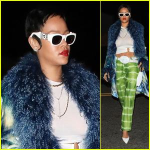 Rihanna Debuts Short Hair Look While Dining in Santa Monica