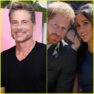 Rob Lowe Addresses Rumors That Prince Harry & Meghan Markle's Oprah Interview Was Filmed at His Home