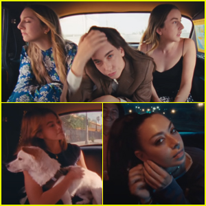 HAIM, Kaia Gerber, Charli XCX & More Star in Rostam's 'From the Back of a Cab' Music Video
