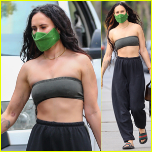 Rumer Willis Shows Off Her Toned Midriff After a Pilates Session