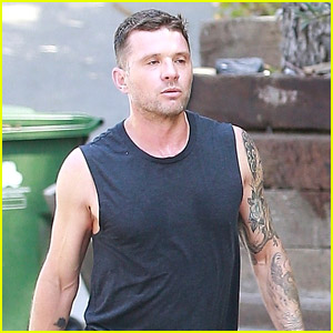 Ryan Phillippe Spotted Working Out with His Son Deacon, Who Is a Budding Music Star!