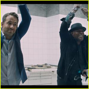 Ryan Reynolds & Samuel L. Jackson Fight to Stay Alive in New 'The Hitman's Wife's Bodyguard' Trailer - Watch!