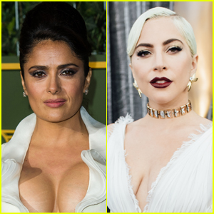 Salma Hayek Reveals What It Was Really Like Working With Lady Gaga on 'House of Gucci'