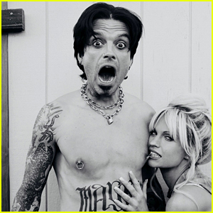 Sebastian Stan Tells the Story Behind Viral Photo of Him as Tommy Lee!