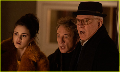 Selena Gomez, Steve Martin, & Martin Short in 'Only Murders in the Building' - First Look Pics!