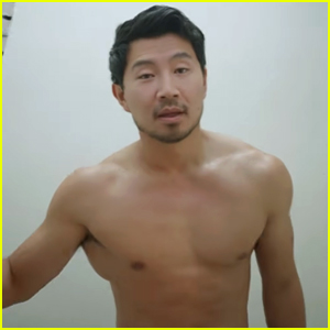 Marvel's Newest Star Simu Liu Goes Shirtless for New Charity Video!