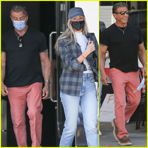 Sylvester Stallone Spends a Day with His Daughter Sophia in Sunny L.A.!