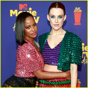 'Zola' Stars Taylour Paige & Riley Keough Wear Matching Looks at MTV Movie & TV Awards 2021!