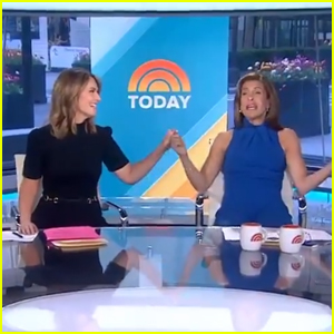 Savannah Guthrie & Hoda Kotb Stop Socially Distancing on 'Today' After 15 Months