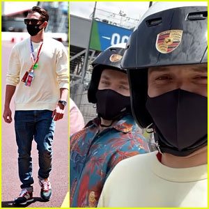 Tom Holland Takes a Trip to Monaco with BFF Harrison Osterfield!