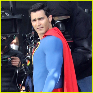 Tyler Hoechlin Spotted In a Retro Superman Suit In New 'Superman & Lois' Photos!