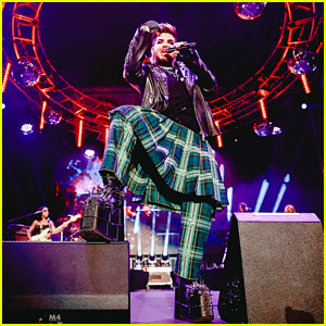 Adam Lambert Rocks the Stage During Pride Concert He Helped Curate