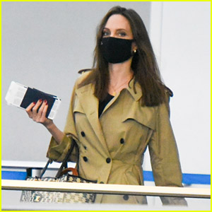 Angelina Jolie Spotted at JFK Airport with Her Kids After Family Trip to NYC!