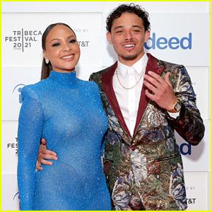 Anthony Ramos Supports Fiancee Jasmine Cephas Jones at Tribeca Premiere of 'Blindspotting'