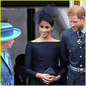Queen Elizabeth Congratulates Prince Harry & Meghan Markle on Birth Of Daughter Lilibet