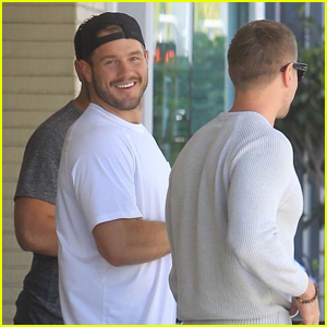 Colton Underwood is All Smiles After Grabbing Lunch with Friends