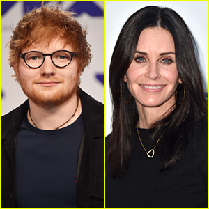 Ed Sheeran Teases New Single With Help From Courteney Cox - Listen Here!