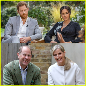 Prince Harry's Uncle Prince Edward Makes Rare Comments About Him Stepping Down From Royal Duties