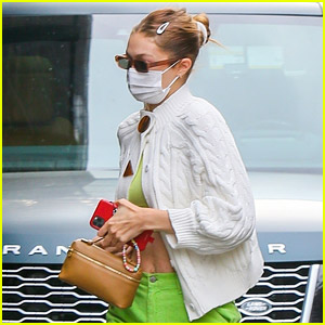 Gigi Hadid Spotted at Her COVID-19 Vaccine Appointment in NYC