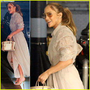 Jennifer Lopez's Summer Style Is On Point While Arriving For Business Meeting