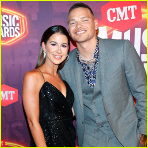 Kane Brown Arrives for Hosting Duties at CMT Music Awards 2021 with Wife Katelyn