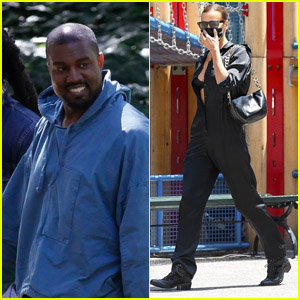 Kanye West & Irina Shayk Step Out in LA & NYC After France Getaway