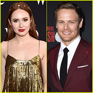 Karen Gillan Is Finally Obsessed With 'Outlander' & Sam Heughan Offers Her A Part!
