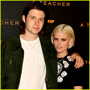 Kate Mara Debuts New Blonde Hair at 'A Teacher' Event with Nick Robinson!